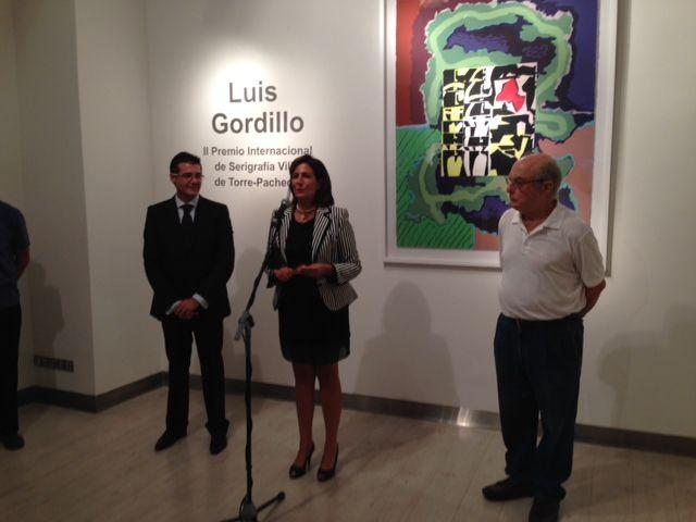 II Premio Internacional de Serigrafía Villa de Torre-Pacheco concedido al pintor Luis Gordillo - 2, Foto 2