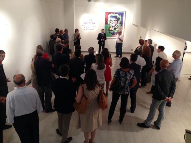II Premio Internacional de Serigrafía Villa de Torre-Pacheco concedido al pintor Luis Gordillo - 3, Foto 3