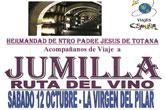 La Hermandad de Ntro Padre Jesús organiza un viaje a Jumilla Ruta del Vino
