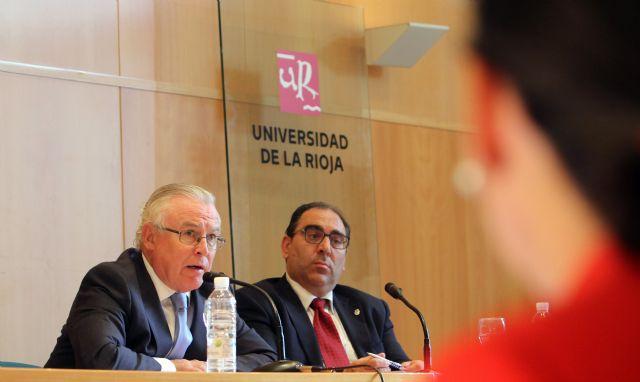 El rector Cobacho ofrece una conferencia sobre Derecho agrario en la Universidad de La Rioja - 1, Foto 1