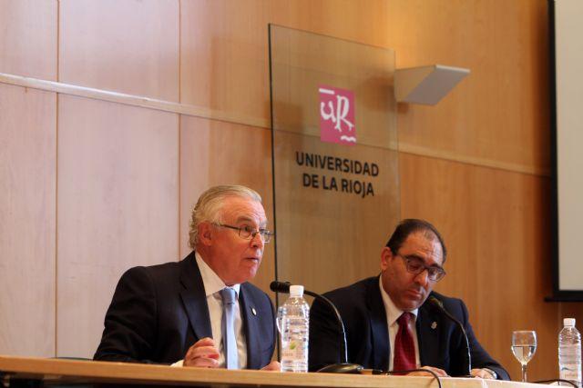 El rector Cobacho ofrece una conferencia sobre Derecho agrario en la Universidad de La Rioja - 2, Foto 2