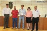 El ayuntamiento ofrece una recepción institucional al piloto Luis Moya