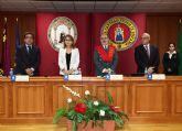 El coronel José Ortega apadrina la III promoción del Máster Oficial en Ciencias de la Seguridad y Criminología