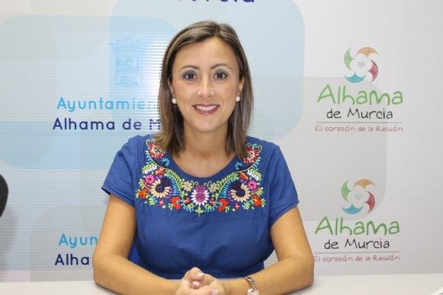 Carmen María Rodríguez, concejala de Turismo del ayuntamiento de Alhama de Murcia, Foto 2