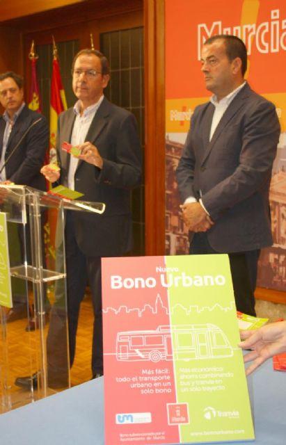 El nuevo bono urbano permitirá viajar en tranvía y autobús en la ciudad hasta un 40% más barato a partir de mañana - 2, Foto 2