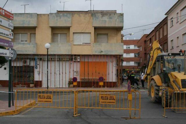 IU-V solicita un estudio para conocer las razones del hundimiento de un edificio en Puerto Lumbreras - 1, Foto 1