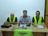 Los 'yayoflautas' presentaron en Cieza su campaña para la revalorización de las pensiones conforme al IPC