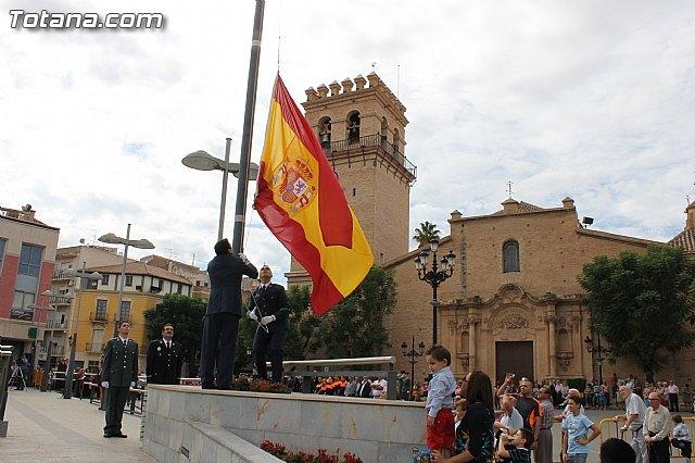 El ayuntamiento celebrar� el acto institucional de Homenaje a la Bandera el pr�ximo d�a 12 de octubre, festividad de la Hispanidad, Foto 1