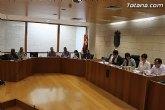 El ayuntamiento de Totana celebra mañana Pleno extraordinario
