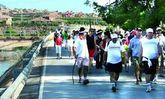 La VIII Marcha Solidaria Ciudad de Totana a beneficio de C�ritas tendr� lugar este domingo