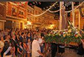 El delegado del Gobierno de la Región de Murcia abrió anoche las Fiestas de Puerto Lumbreras