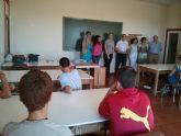 Catorce alumnos participan en el programa del Aula Ocupacional mediante el cual se favorece la permanencia los j�venes en el sistema educativo