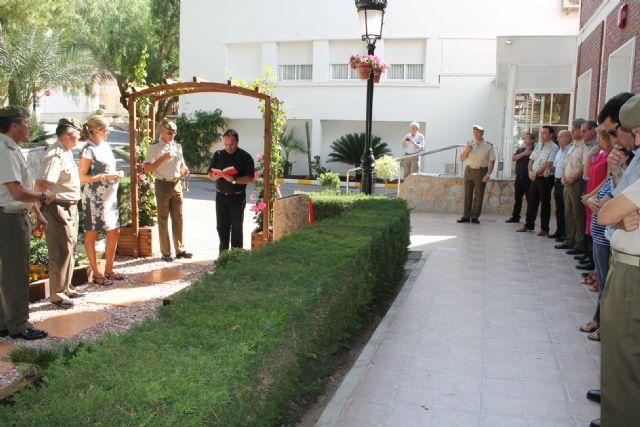 Inaugurado un nuevo jardín en la Residencia Militar de Archena con presencia de autoridades militares y Alcaldesa y Concejales - 2, Foto 2
