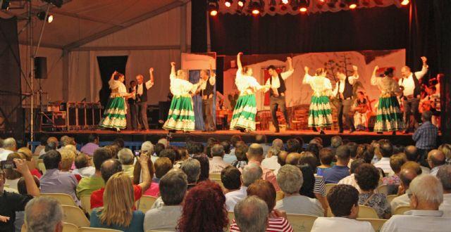 Aire de folklore a cargo de Coros y Danzas Virgen del Rosario en las fiestas de Puerto Lumbreras - 1, Foto 1