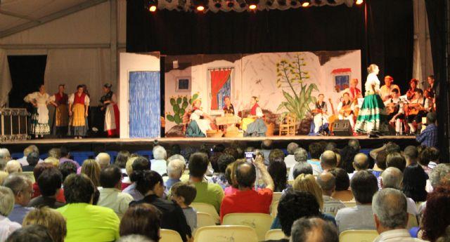 Aire de folklore a cargo de Coros y Danzas Virgen del Rosario en las fiestas de Puerto Lumbreras - 2, Foto 2