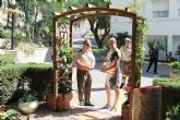 Inaugurado un nuevo jardín en la Residencia Militar de Archena con presencia de autoridades militares y Alcaldesa y Concejales
