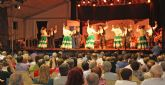 Aire de folklore a cargo de Coros y Danzas 'Virgen del Rosario' en las fiestas de Puerto Lumbreras