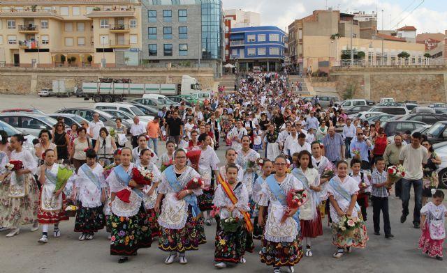 Puerto Lumbreras acoge la tradicional Ofrenda Floral a la Virgen del Rosario' 2013 - 1, Foto 1