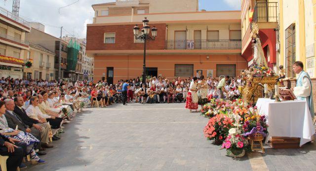 Puerto Lumbreras acoge la tradicional Ofrenda Floral a la Virgen del Rosario' 2013 - 2, Foto 2