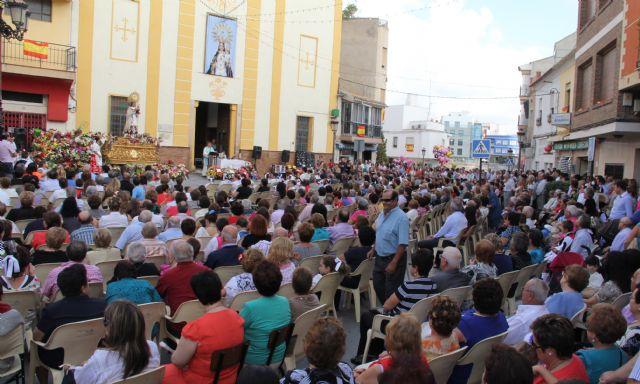 Puerto Lumbreras acoge la tradicional Ofrenda Floral a la Virgen del Rosario' 2013 - 3, Foto 3