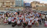 Puerto Lumbreras acoge la tradicional Ofrenda Floral a la Virgen del Rosario' 2013