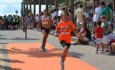La carrera Correlimos reúne a deportistas de todas las edades en el parque natural de Salinas y Arenales