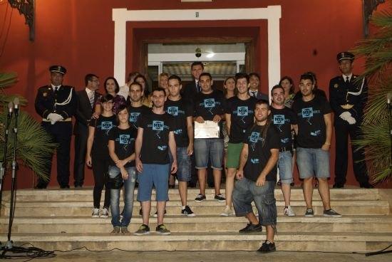 La Corporación Municipal celebra el acto de recepción homenaje a las peñas de Alhama, Foto 1