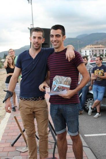 """Una veintena de personas participan el concurso de """"Lanzamiento de azada"""", Foto 3"""