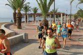 M�s de 400 atletas participan en la III Media Marat�n y III Carrera Popular Bah�a de Mazarr�n