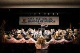 La Agrupaci�n Musical de Alhama celebr� su XXIX Festival de Bandas de M�sica