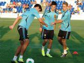 España sub21 ya se entrena en Pinatar Arena