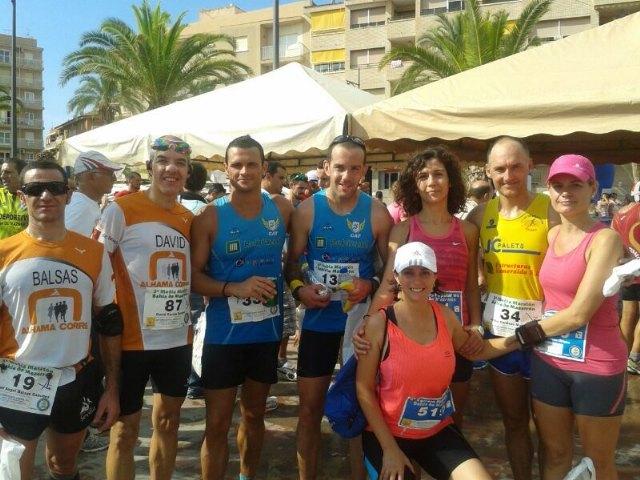 Atletas del Club Atletismo Totana participaron en la marat�n y media marat�n de montaña Almudayna, Foto 1