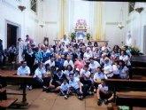 80 personas de Totana peregrinan a Mutxamel por el Año Jubilar del V centenario de la Parroquia El Salvador