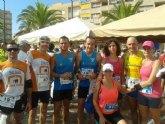 Atletas del Club Atletismo Totana participaron en la marat�n y media marat�n de montaña Almudayna