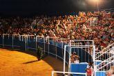 �xito absoluto de la gala ecuestre � flamenca a beneficio de �C�ritas� de Mazarr�n y Puerto