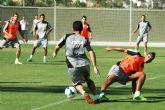El Real Murcia también se entrena en Pinatar Arena