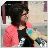 Declaraciones de la alcaldesa a la salida del juzgado