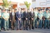 Valcárcel destaca 'el gran compromiso con la seguridad ciudadana' que representa el puesto de la Guardia Civil en Las Torres de Cotillas