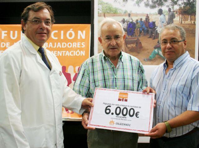 La fundación de trabajadores de ELPOZO ALIMENTACIÓN dona 6.000 euros para la construcción de un pozo de supervivencia en Tena-Kana (Mali), Foto 1