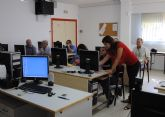 Las Torres de Cotillas acoge un curso de iniciación a la informática e internet de 60 horas