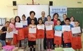 La Alcaldesa y el Director general de Trabajo entregan los premios de la campaña escolar ´Crece en Seguridad´