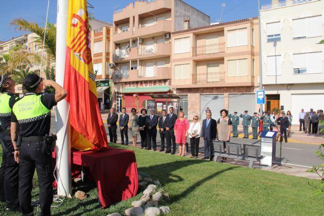 Puerto Lumbreras celebra una Misa en Honor a la Virgen del Pilar y un homenaje a la Bandera - 1, Foto 1