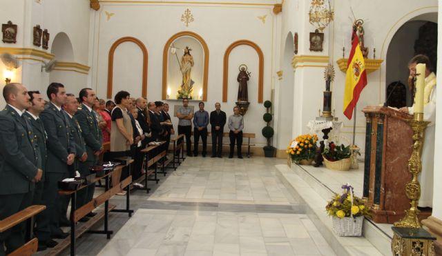 Puerto Lumbreras celebra una Misa en Honor a la Virgen del Pilar y un homenaje a la Bandera - 2, Foto 2