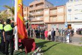 Puerto Lumbreras celebra una Misa en Honor a la Virgen del Pilar y un homenaje a la Bandera