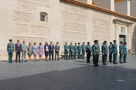 La Guardia Civil protagoniza un emotivo homenaje a la Bandera española el Día de la Hispanidad, Foto 2