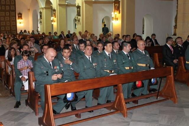 La Guardia Civil protagoniza un emotivo homenaje a la Bandera española el Día de la Hispanidad, Foto 3