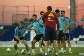 España en Pinatar Arena pensando en Hungría