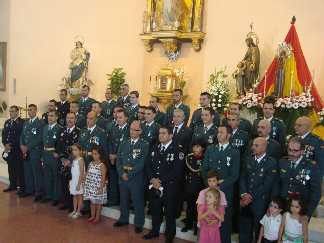La iglesia de San José acoge un año más la misa en honor a la Virgen del Pilar - 1, Foto 1