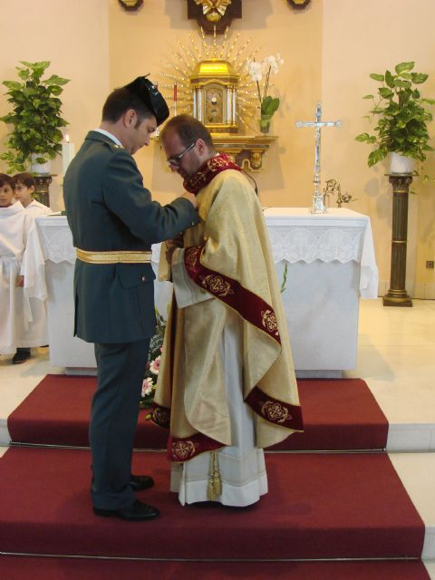 La iglesia de San José acoge un año más la misa en honor a la Virgen del Pilar - 2, Foto 2