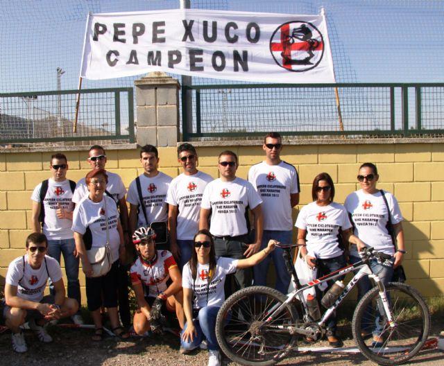 José Pérez del club ciclista 9 y ½ se alza campeón regional cicloturista del Open Bike Maratón 2013 - 1, Foto 1